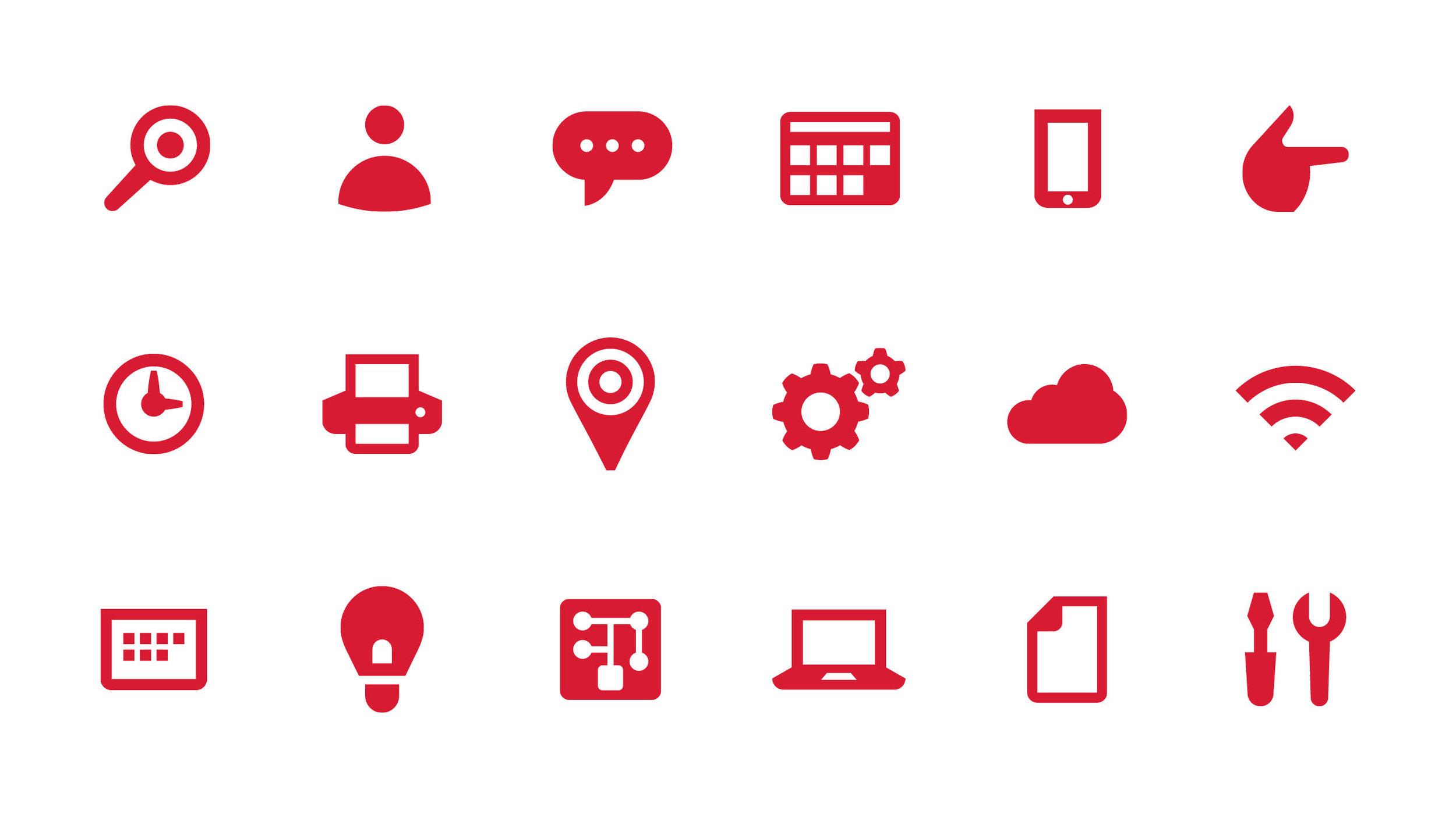 Target HiTech Icons
