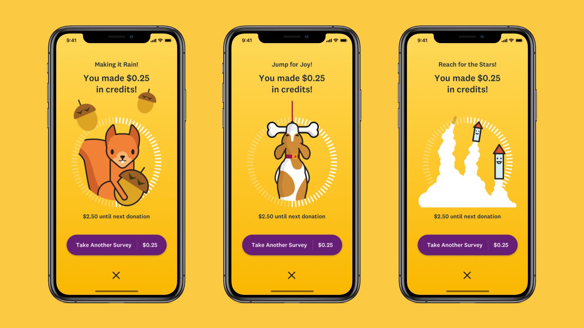 SurveyMonkey Rewards Success Illustrations
