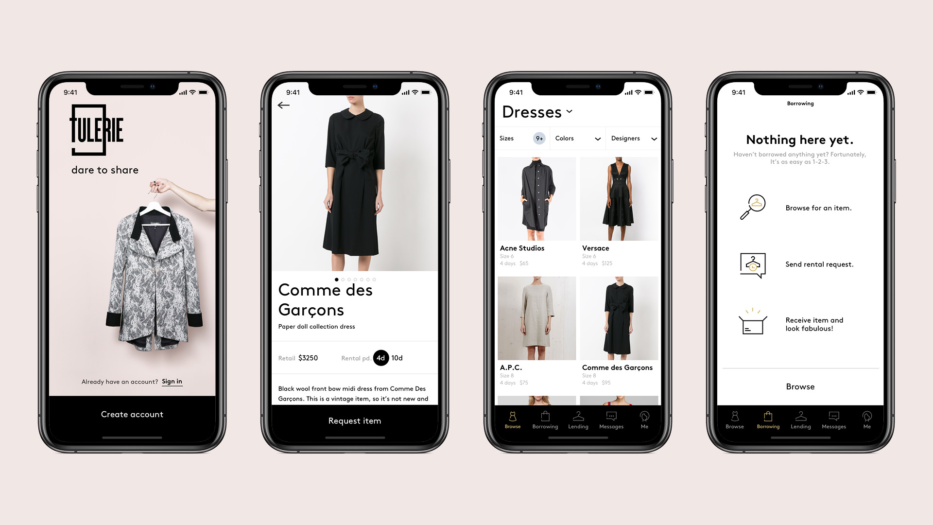 Tulerie Fashion Marketplace Product Design