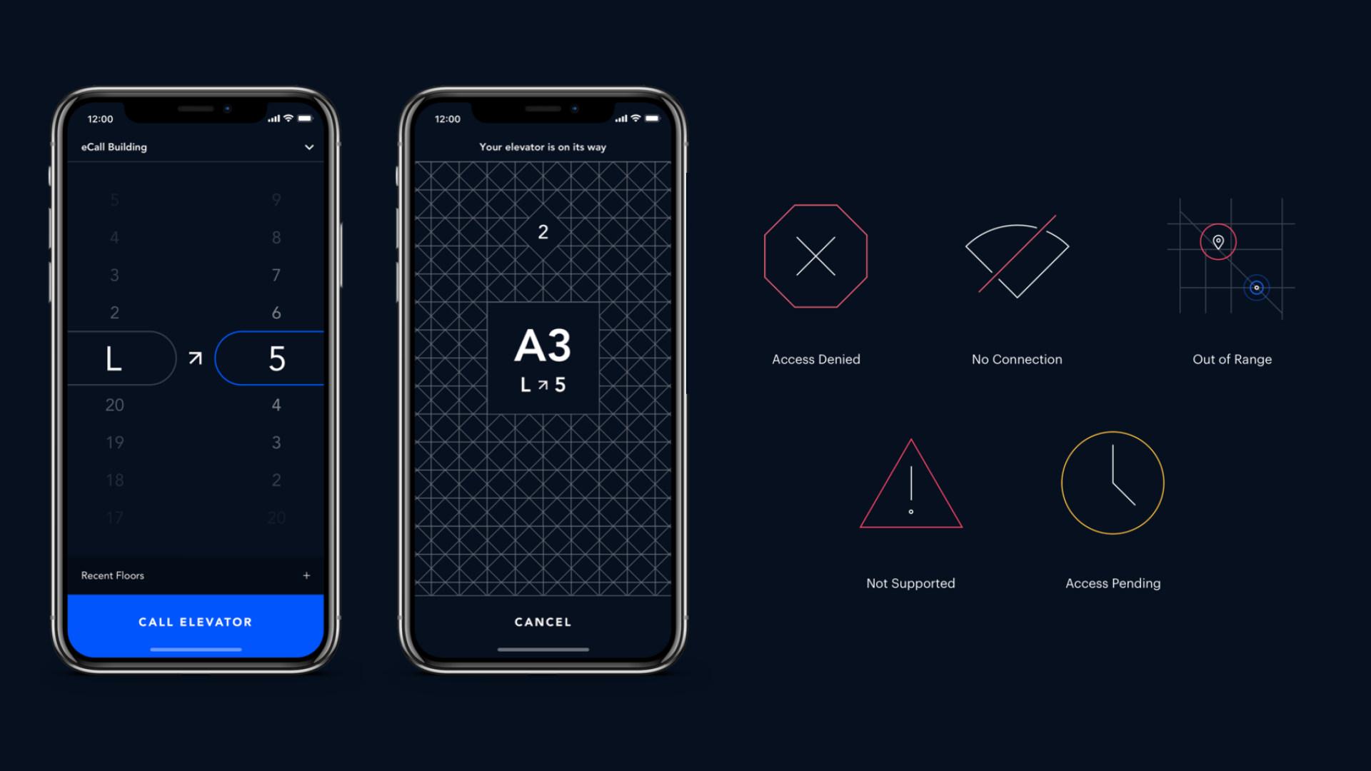 OTIS eCall Elevator App