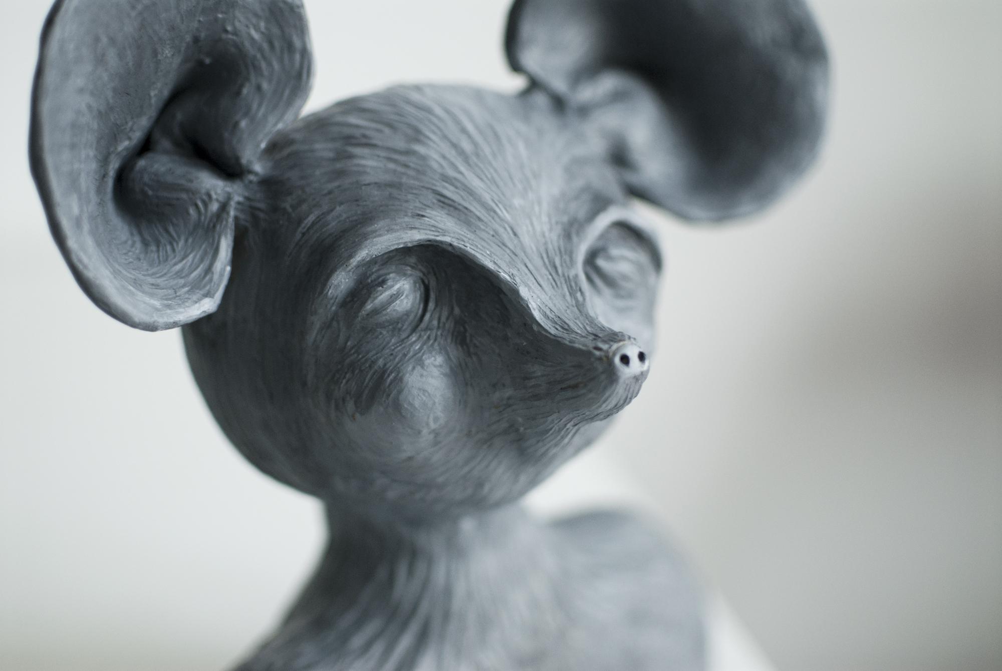 A newborn mouse!