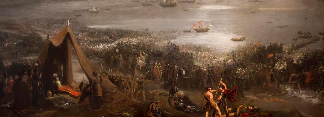 The Battle of Clontarf by Huge Frazer
