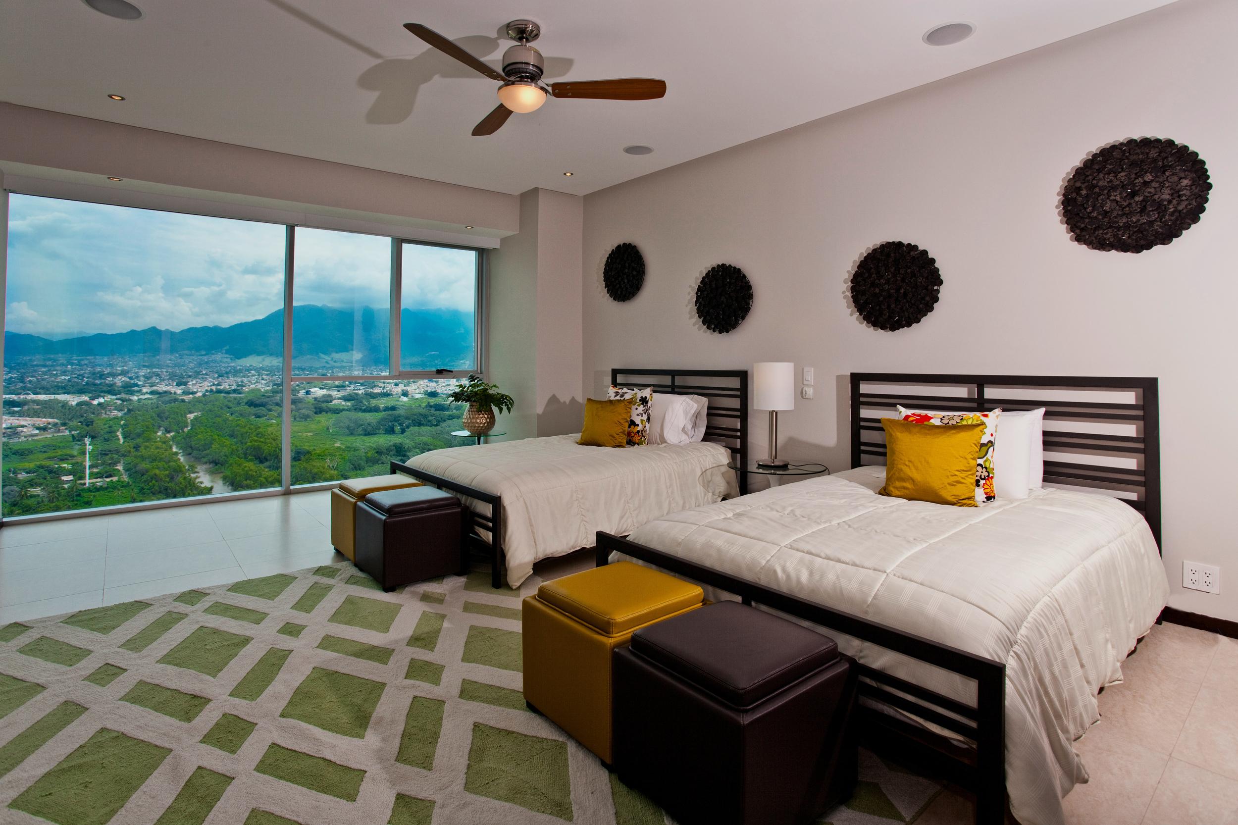 Puerto Vallarta rental condo mountain bedroom