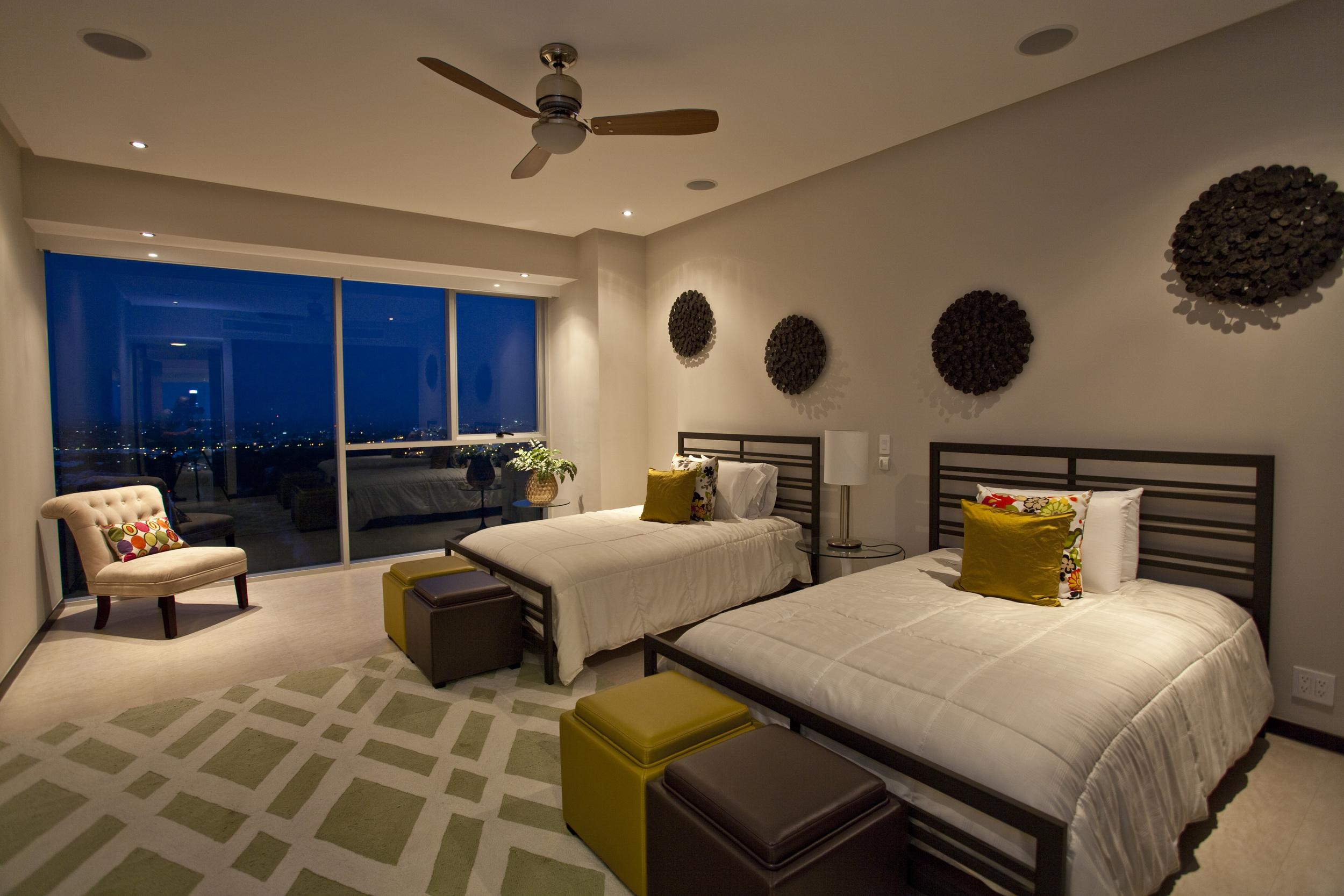 Mountain room of luxurious Puerto Vallarta rental penthouse
