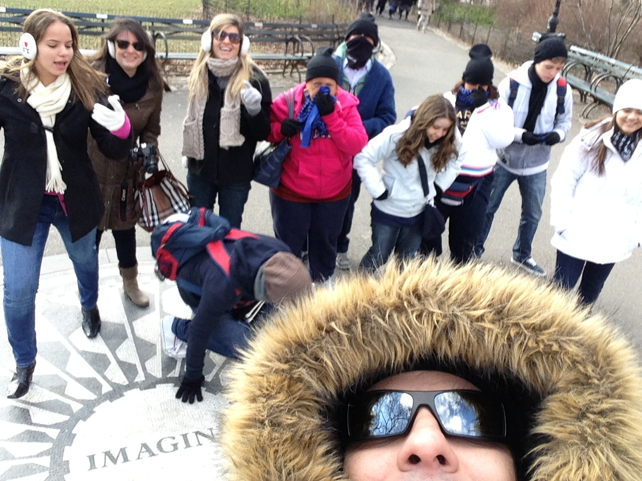Tour com frio de - 12 graus