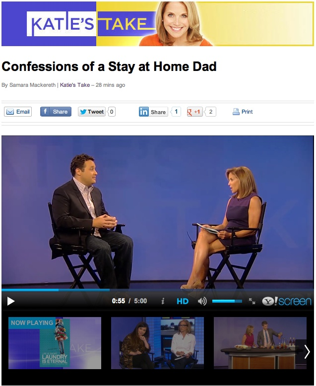 My interview with Katie Couric is live on  Yahoo News .