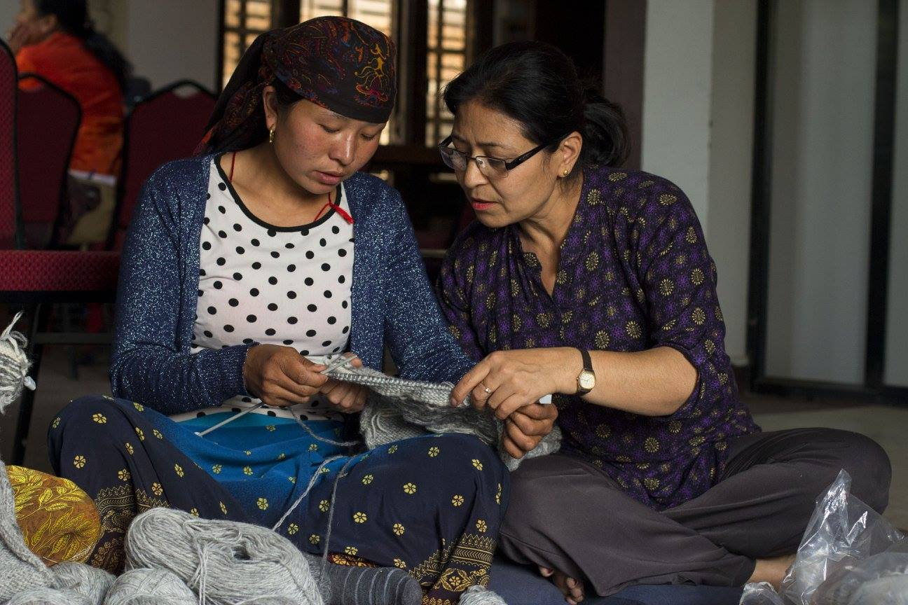 Spread the Love - Working with international companies to help women in Nepal