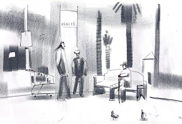 Graphite on paper (2011)