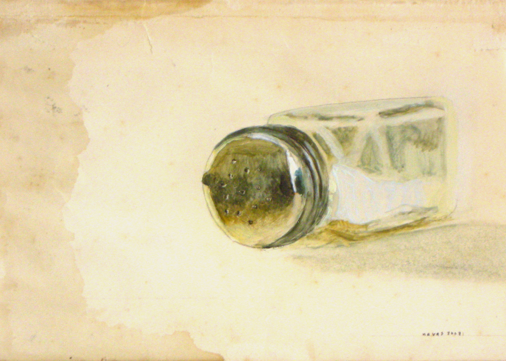 Oil on paper (2007)