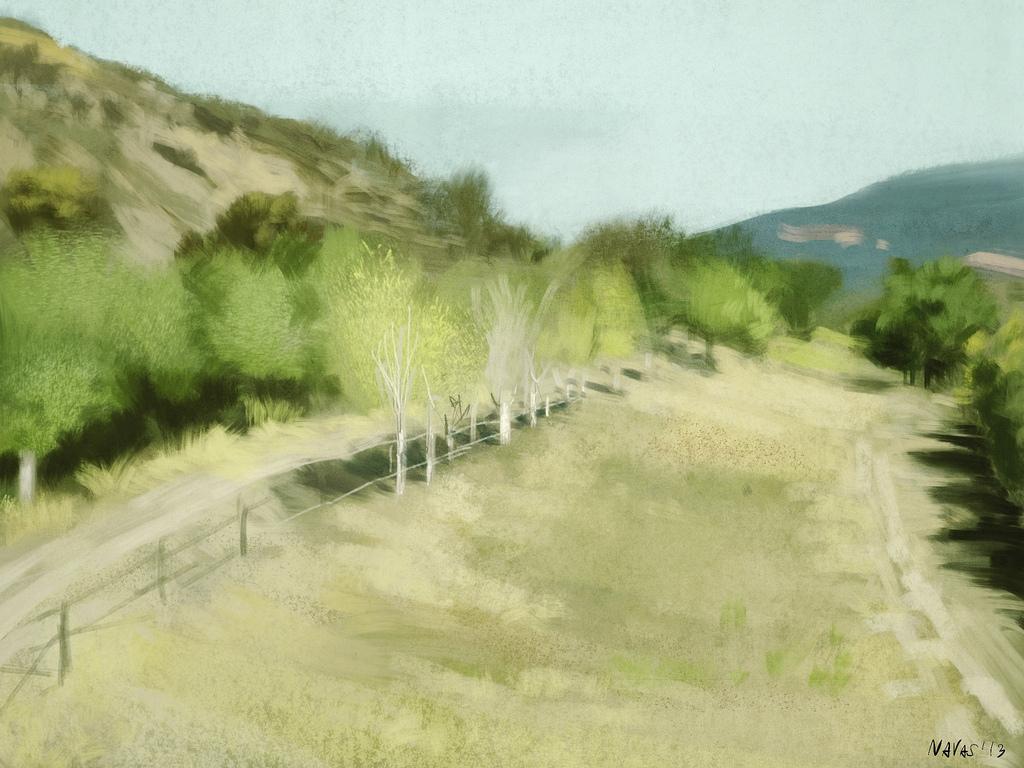 Santa Ynez - Procreate - David Navas (2013)