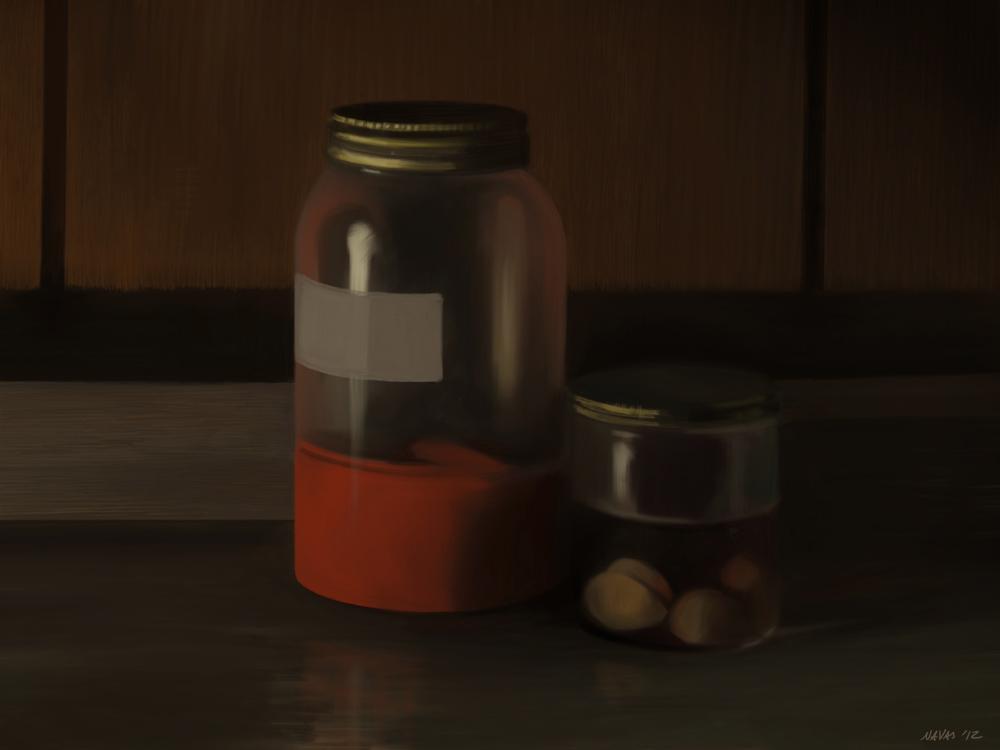 Daikon Kimchi and Miso marinated garlic_8447445881_o.jpg
