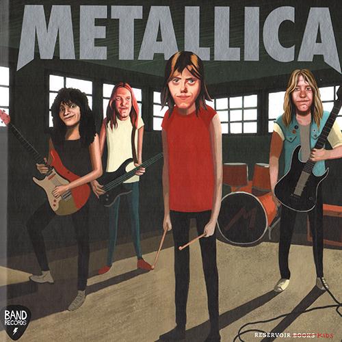 """Metallica   Ilustraciones para el libro infantil """"Metallica"""", parte de la colección de libros infantiles sobre legendarias bandas del rock. Escritos por Soledad Romero y publicados por Reservoir Books.   COMPRAR/BUY    Preview the book  here."""