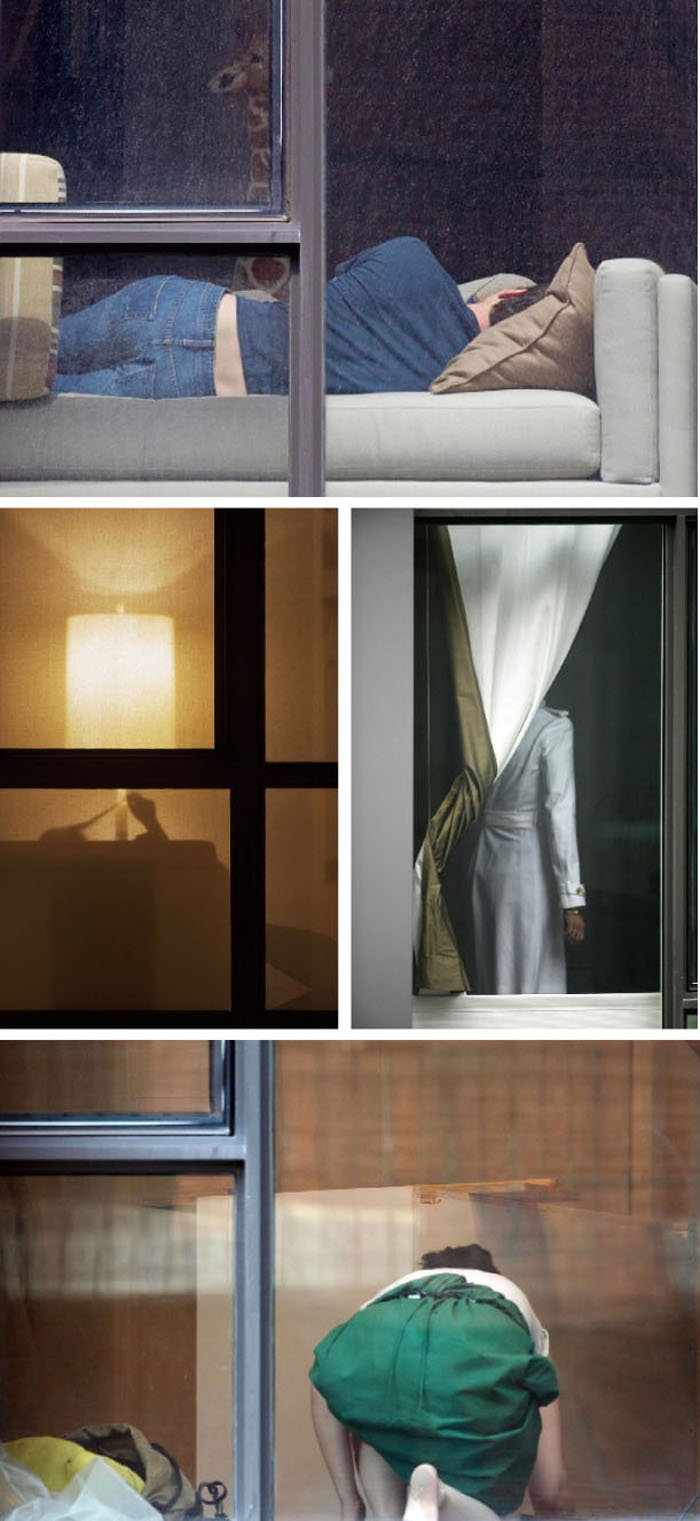 "Photographs by Arne Svenson from the series, ""The Neighbors"""