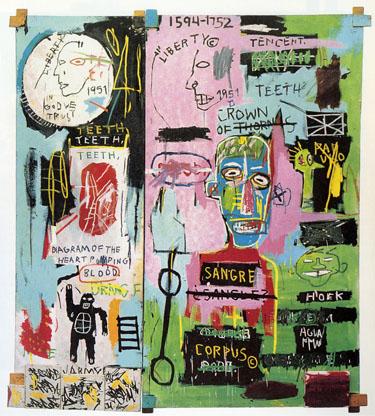 Jean Michel Basquiat at Gagosian, Chelsea
