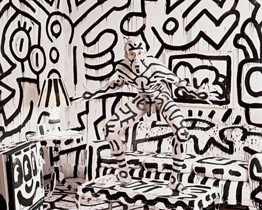 Keith Haring by Annie Leibovitz, 1987