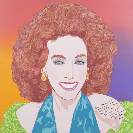 Helen Gurley Brown by Clayton LeFevre