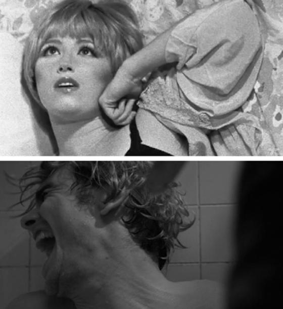 Cindy Sherman, Untitled Film Still; James Franco, New Film Still