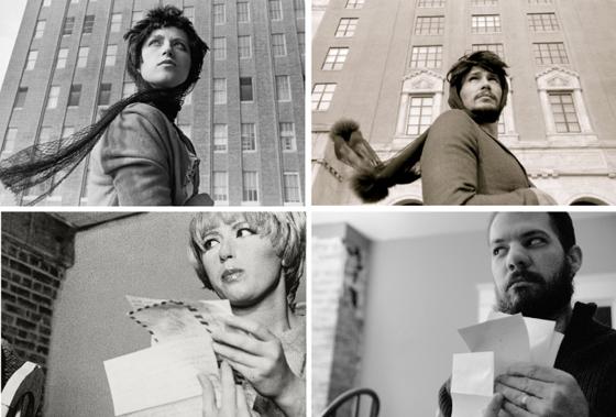 Top; Cindy Sherman, James Franco; Cindy Sherman, unknown hommage