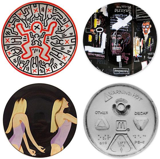 Keith Haring, Jean-Michel Basquiat, Alex Katz, Tom Sachs