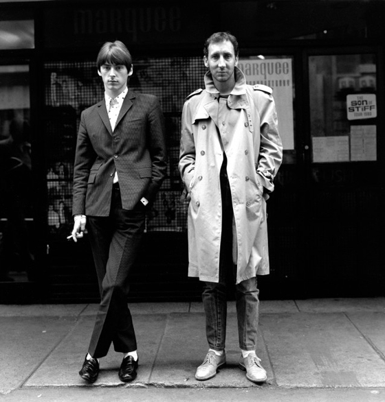 Weller and Townshend, London, 1981