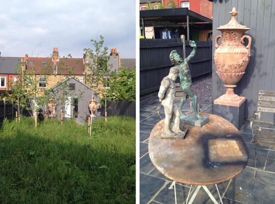 Bouke's garden studio in Shepherd's Bush, London