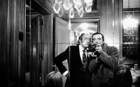 Selfie with Dali in Paris