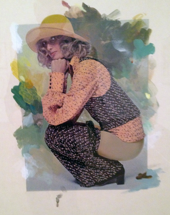 Girl with Trousers Down ,1972