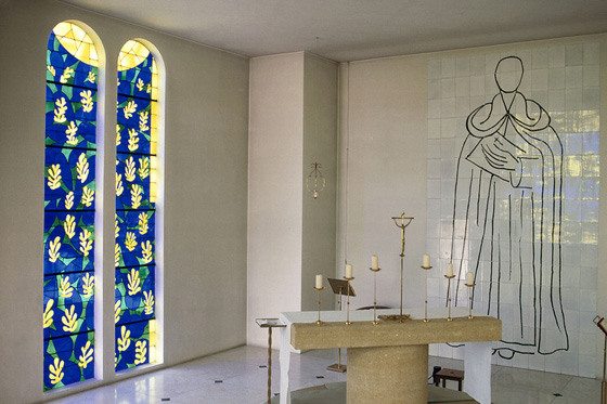 The Rosarie Chapel by Matisse