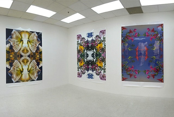 Flowers installation at The National Exemplar