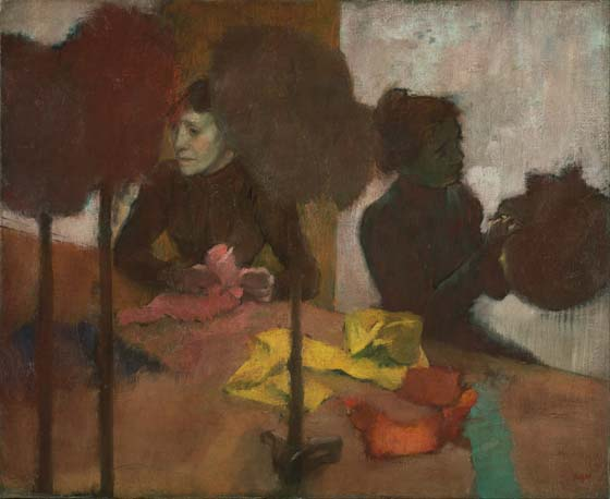 """""""Painting is easy when you don't know how, but very difficult when you do.""""  – Edgar Degas"""