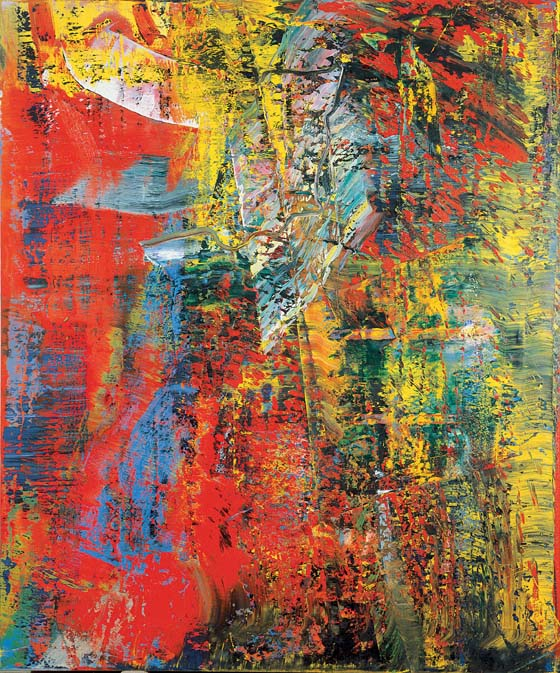 """""""I don't believe in the reality of painting, so I use different styles like clothes: it's a way to disguise myself.""""  –  Gerhard Richter"""