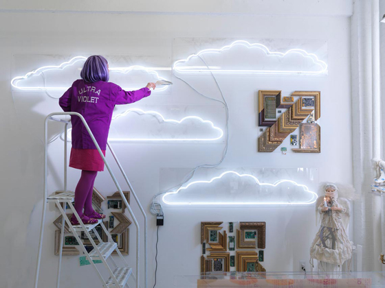 Ultra Violet's final exhibit was at the Dillon Gallery, New York, May 2014