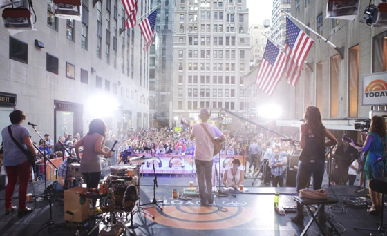 Yes! Toyota Concert Series in Rockefeller Center, July 18, 2014