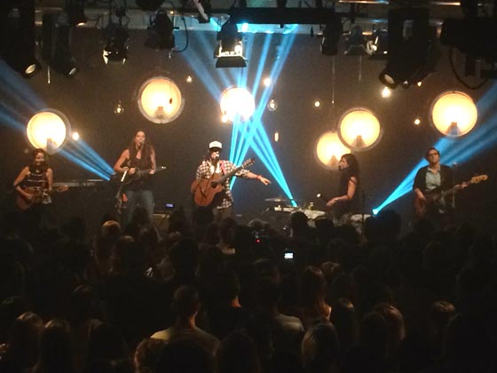 I Heart Radio concert, July 18, 2014