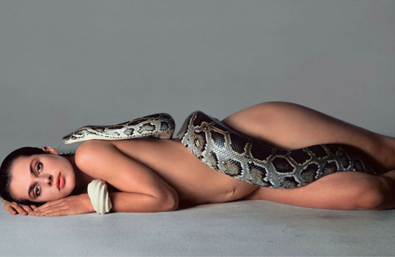 This iconic photo by Richard Avedon of Natasha Kinski appeared the month I started at Vogue in '81