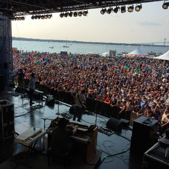 Band of Horses and the view
