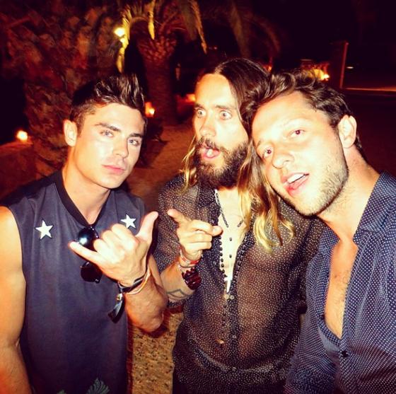 Zac, Jared & Derek @derekblasberg