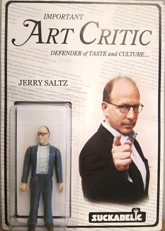 SUCKLORD, Jerry Saltz Action Figure, est $200-400