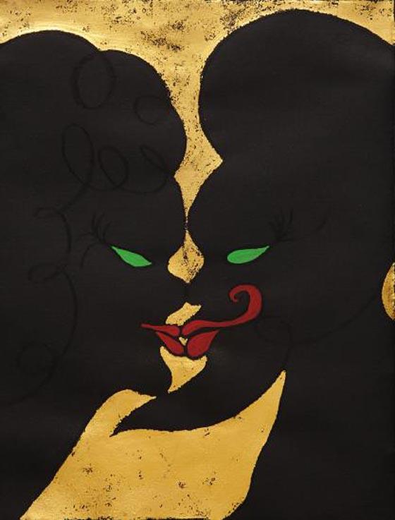 CHRIS OFILI, no title, 2003