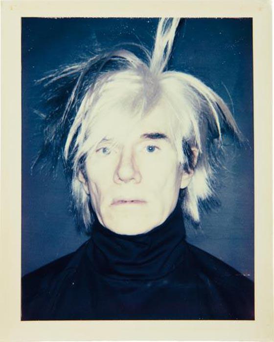 ANDY WARHOL, Self-Portrait (in Fright Wig), 1986
