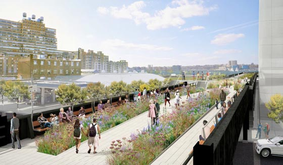 Rendering of The Highline's Phase 3 section