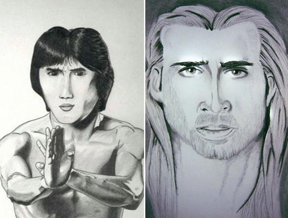 Bruce Lee & Nic Cage