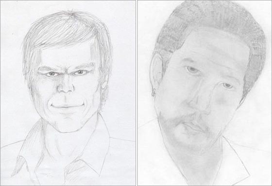 Michael C. Hall & Morgan Freeman