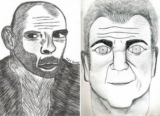 Bruce Willis & Mel Gibson