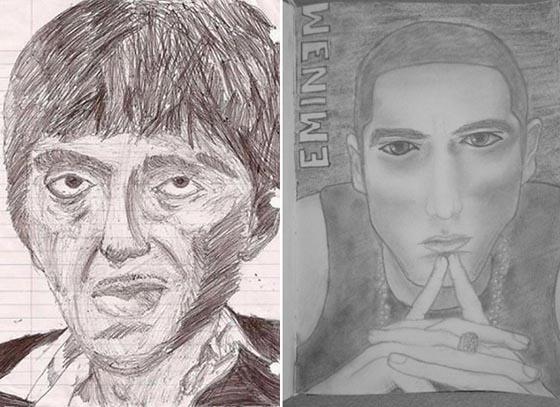 Pacino & Marshall Mathers