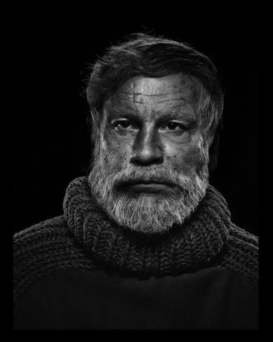 Yousuf Karsh / Ernest Hemingway (1957), 2014