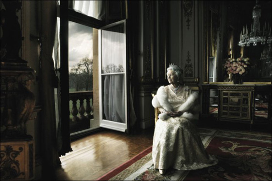 Her majesty Queen Elizabeth II, as shot by the uncompromising, Annie Liebovitz