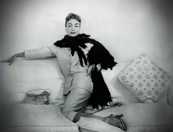 JOAN CRAWFORD: If Hollywood were Mount Olympus (and it surely is mythology in the making), then Miss Joan Crawford would set any Bullfinch to sharpening his quills. Like the titled queen bee in one of her own films, she has been fed on royal jelly, surviving the irreparable outrage of years to become the last of the great movie stars.