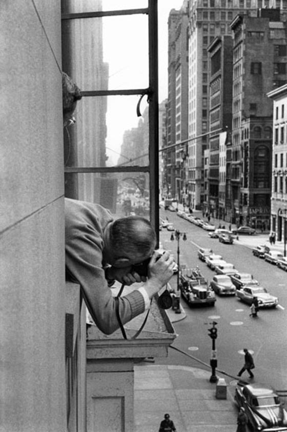 René Burri, Henri Cartier-Bresson, New York, 1959