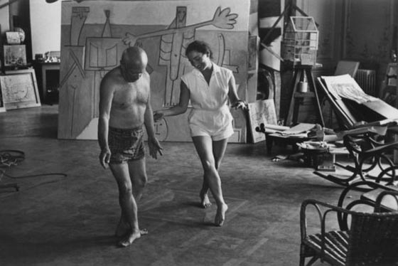 There will be some 50 images by David Douglas Duncan of Pablo Picasso and Jacqueline in Pace's exhibit